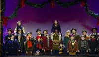 The cast of 'A  Christmas  Story,  The  Musical,' presented by AT&T Performing Arts Center at Winspear Opera House Dec. 12-16.(Gary Emord Netzley)