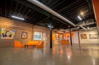 Copper & Kings American Brandy Distillery has an art gallery in its tasting room.(Ron Jasin/Copper & Kings)