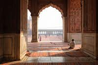 Muslims can be found all over the world, including at this mosque in New Delhi, India.(Noemi Cassanelli/Agence France-Presse)