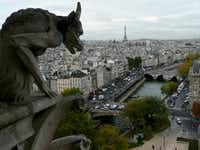 France was the most visited country in 2017, with over 82 million tourists flocking to sites such as Notre Dame Cathedral in Paris.(Josh Noel/Chicago Tribune)
