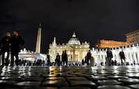 Vatican City, the headquarters of the Roman Catholic Church, claims to have no practicing Muslims. (Vincenzo Pinto/Agence France-Presse)