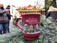 Many visitors to German Christmas markets like to collect the unique mugs available in different cities.(Ann Pinson/Special Contributor)