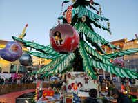 Many Christmas markets have rides for kids, including this one in Metz, France.(Travis Pinson/Special Contributor)