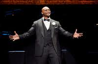 Eddie George plays Billy Flynn in the national tour of <i>Chicago</i>, presented by AT&T Performing Arts Center Dec. 18-23 at Winspear Opera House.(Jeremy Daniel)