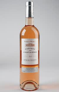 Patrice Moreux Chateau des Vingtinieres Cotes de Provence Rose(Rose Baca/Staff Photographer)