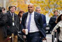"<p>Rep.-elect Colin Allred, D-Texas.,<a href=""https://www.dallasnews.com/news/2018-elections/2018/10/21/before-discovering-politics-former-nfl-player-colin-allred-find"" style=""font-size: 1em; background-color: transparent;"">a civil rights attorney who grew up in the district</a><span style=""font-size: 1em; background-color: transparent;"">, played in the NFL for the Tennessee Titans and then served in President Barack Obama's administration.</span><span style=""font-size: 1em; background-color: transparent;""> (AP Photo/Pablo Martinez Monsivais)</span></p>(Pablo Martinez Monsivais/AP)"