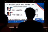The battle between Pete Sessions and Colin Allred was one of the marquee House races in the U.S. (AP Photo/Jeffrey McWhorter)(Jeffrey McWhorter/AP)