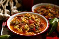 Okra stew(Vernon Bryant/Staff Photographer)