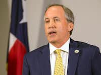 Texas Attorney General Ken Paxton.(Nick Wagner/The Associated Press)