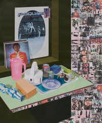 "<p>Njideka Akunyili Crosby's <i>As We See You: Dreams of Jand, </i> 2017. <span style=""font-size: 1em; background-color: transparent;"">(The artist and Victoria Miro, London)</span></p><p></p>(Njideka Akunyili Crosby/Victoria Miro, London)"