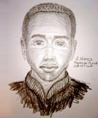 Dallas police earlier this fall released a sketch of the suspect they were pursuing in three sexual assaults in Far North Dallas and Northeast Dallas. They say the same person is also responsible for Maria Ezquerro's killing.