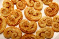 Palmiers made out of homemade puff pastry(Nathan Hunsinger/Staff Photographer)