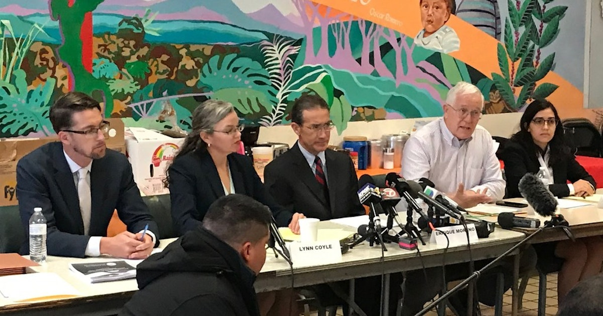Attorneys say 7-year-old immigrant who died in U.S. custody wasn't given water...