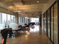 Coworking spaces including this Serendipity Labs location in downtown Dallas' KPMG Plaza are growing across North Texas.(Steve Brown)