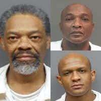 Artis Armour, Jessie Paul Skinner and Johnny Lee Walker (clockwise from left) are suing the Texas Department of Criminal Justice, alleging the extreme temperatures behind bars amount to cruel and unusual punishment.(Texas Department of Criminal Justice)