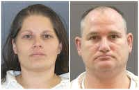 Barbara and Kenneth Atkinson both were sentenced to life in prison.(Texas Department of Criminal Justice)
