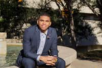 Xavier Rice of Fort Worth said seeing himself reflected in students and staff at Prairie View A&M University helped him connect to the school and build relationships with classmates and professors who continue to encourage him.(Lawrence Jenkins/Special Contributor)