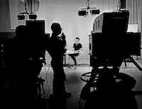"""On Nov. 22, 1963, the WBAP show Wygant hosted, called Dateline, was interrupted several times with updates about the assassination of President John F. Kennedy. """"It didn't sink in until later what we had been through,"""" she said.<br>(From the book, """"<i>Talking to the Stars: Bobbie Wygant's 70 Years in Television</i>""""<br>)"""