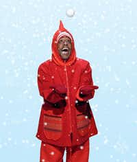 Gerald Taylor in 'The Snowy Day and other Stories by Ezra Jack Keats,' presented by Dallas Children's Theater Dec. 8, 2018-Jan. 20, 2019 at the Rosewood Center for Family Arts.(Karen Almond)