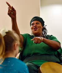 Melody Bell will lead a storytelling workshop on Friday.(Ben Torres/Special Contributor)