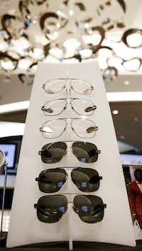 Dallas Cowboys linebacker Jaylon Smith's Clear Eye View  signature eyewear collection launched earlier this month.(Nathan Hunsinger/Staff Photographer)