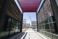 Nokia leased offices in two new buildings in the Cypress Waters development.(Nathan Hunsinger/Staff Photographer)