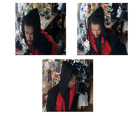 Police released these images of a man suspected of burglarizing the Minit Mart convenience store in the 100 block of North Masters Drive earlier this month..(Dallas Police Department)