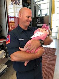 Allen Firefighter Jeremy West(Allen Firefighters Association)