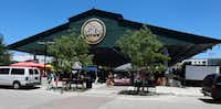Exterior view of The Shed at the Dallas Farmers Market.(File Photo/Staff)