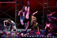 Junior Players' production of Green Day's <i>American Idiot,</i> directed by Valerie Hauss-Smith, at Moody Performance Hall.(Ben Torres/Special Contributor)