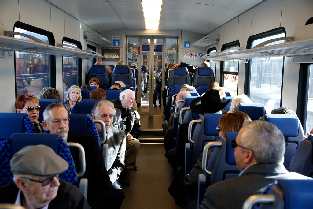Tarrant County's TEXRail makes maiden voyage to DFW Airport