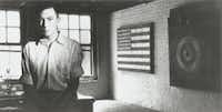 Undated photograph of artist Jasper Johns early in his career (George Moffet/Special Contributor )