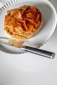 Phyllo-Wrapped Brie(Shaban Athuman/Staff Photographer)
