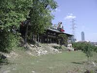 Baby Doe's Matchless Mine Restaurant in 2006, the year it was demolished.(DMN File Photo)