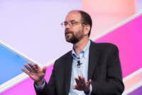 Toyota Research Institute CEO Gill Pratt speaking at the Aspen Ideas Festival in 2016.(Chris Council and Emily Chaplin/Toyota)