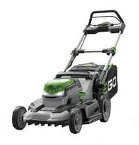 With the end of summer comes deals on lawn mowers and other outdoor equipment.(Ego)