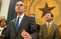 State Rep. Dennis Bonnen, R-Angleton, announced in November that he has the votes to be elected the next speaker of the Texas House for the coming state legislative session.(Stephen Spillman/Austin American-Statesman)