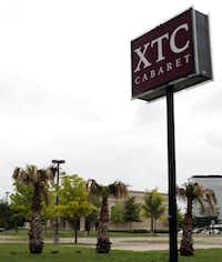 XTC Cabaret is near Regal Row and Interstate 35E.(File Photo/Staff)