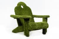 Adirondack Faux Grass Chair available through Mecox(Mecox)