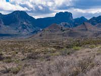 The Chisos Mountains rise from the Chihuahuan Desert floor at Big Bend National Park.(Dan Leeth/Special Contributor)