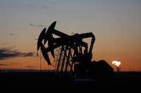 Crude oil swung from a four-year high into a bear market in the last quarter of 2018.(JIM WILSON/NYT)