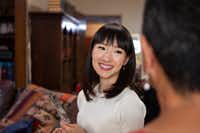 "Home organizer Marie Kondo stars in Netflix's new reality series, ""Tidying Up with Marie Kondo."" (Denise Crew/Netflix)"