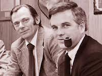 Southwest Airlines co-founders Herb Kelleher (left) and Rollin King(Southwest Airlines)