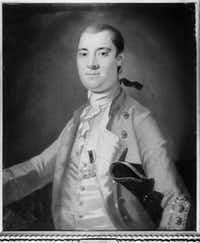 Before serving as governor of New York, William Tryon served as governor of North Carolina from 1765 to 1771. This painting from 1767, originally attributed to the artist John Wollaston, has long been thought to be the only surviving portrait of Tryon. However, researchers now suspect that the portrait may not really be the work of Wollaston, and the subject may not be Tryon. (North Carolina Museum of History)