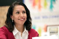 Liz Cedillo-Pereira is director of the Office of Welcoming Communities and Immigrant Affairs.(Maria R.Olivas)