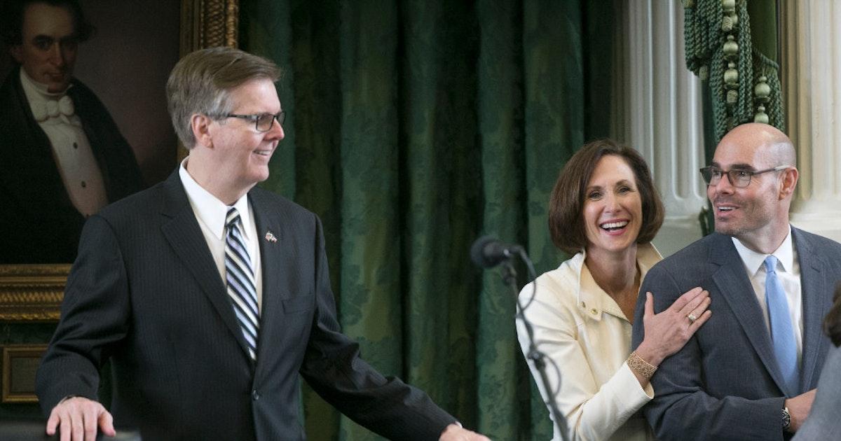 Lt. Gov. Dan Patrick says Speaker scandal, if not resolved, could 'play part in' losing GOP seats in...