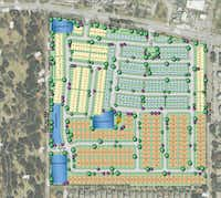 More than 400 homes are planned in the Tennyson Village project.(Centurion American)