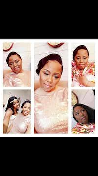 Photos of Kishana Jeffers at her best friend's wedding.(courtesy Selena Boyd)