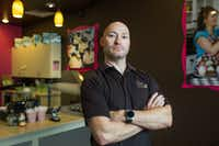 Chet Kenisell has been a franchisee of Gigi's Cupcakes for seven years, and while he owns a shop in Texas, he is also simultaneously suing the founder and parent company.(Thao Nguyen/Special Contributor)