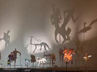 "<p><span style=""font-size: 1em; background-color: transparent;"">SCAD (Savannah College of Art and Design) Museum of Art fills an 1853 railroad depot with provocative works, including these shadow puppets.&nbsp;</span></p>(Robin Soslow/Special Contributor)"